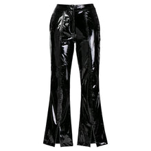 Load image into Gallery viewer, 00's Futuristic Vinyl Tailored Pants-Pants-dyus-k-pu·rist