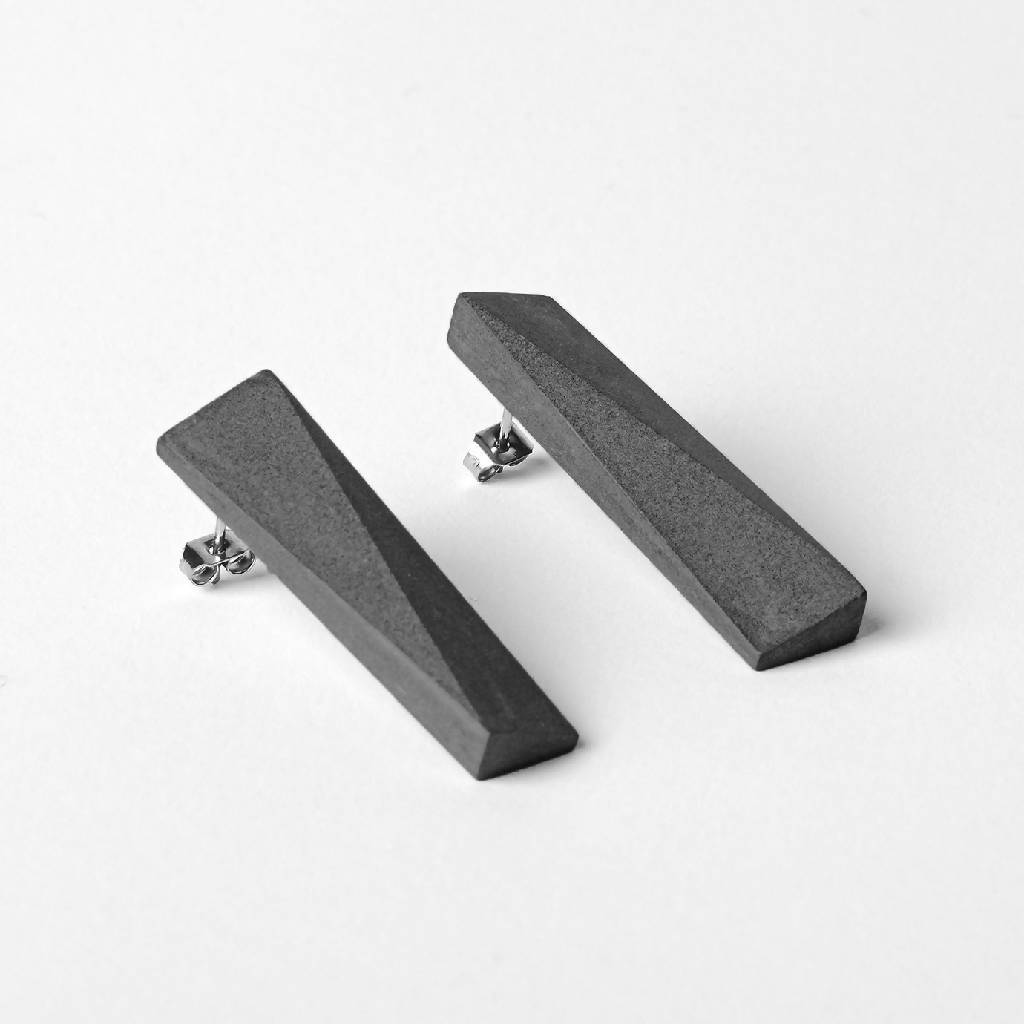 Blok — 48 Dark Earrings-Earrings-MORF-One size-pu·rist