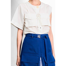 Load image into Gallery viewer, Single Sleeves Utility Shirt-Tops-Charlotte Ng Studio-S-pu·rist