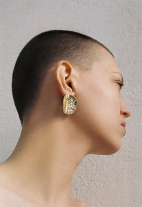 Swallow earrings gold - pu·rist