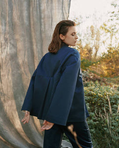 BLUE JACKET-JACKETS-STASA-pu·rist