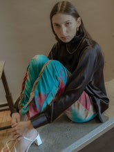 Load image into Gallery viewer, LUCID DREAM MULTI COLOR RUCH SWEATPANTS-SWEATPANTS-WOODROSE-pu·rist