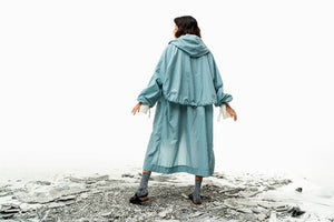 Be Coat (Dusty Blue) Pre-order-Outer-MOIRAI-pu·rist