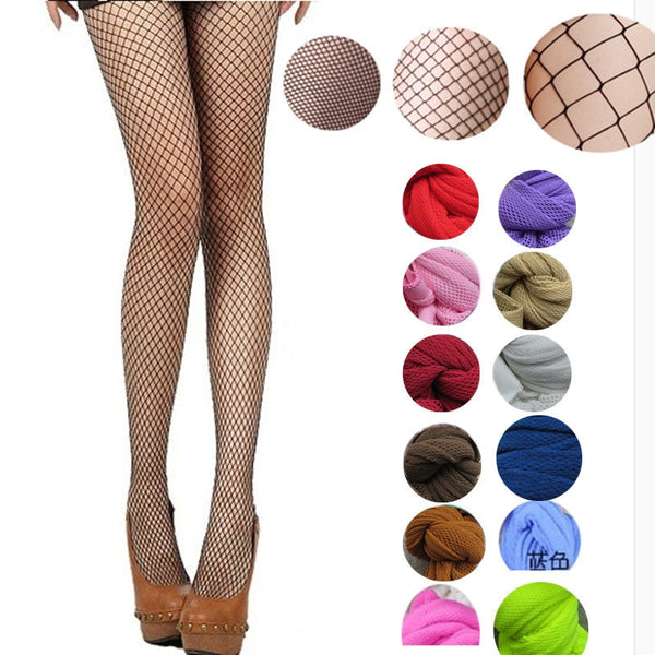 Tango Essentials Fishnets - 12 colors and 3 styles to choose from