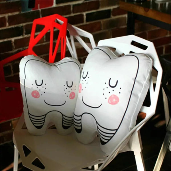 Cute Tooth Feather Cushion/Pillow Toy - Dental Desire.com