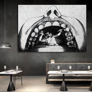 Stone Art Print Of Dental Work - Dental Desire.com