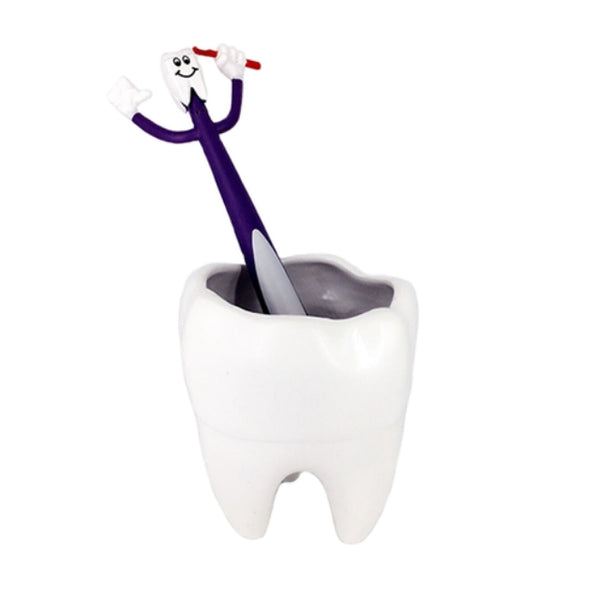 Tooth shape Pencil Vase - Dental Desire.com