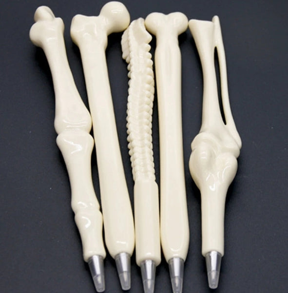 5pcs Bone shape ballpoint pens - Dental Desire.com
