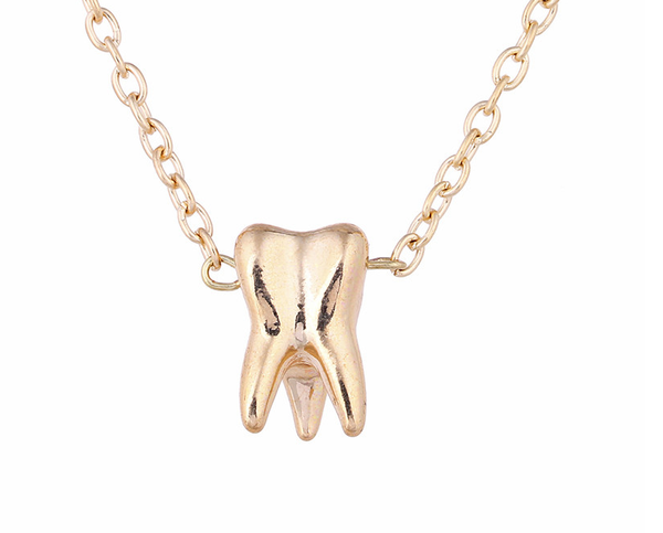 Tooth shape dental necklace/ Bracelet - Dental Desire.com