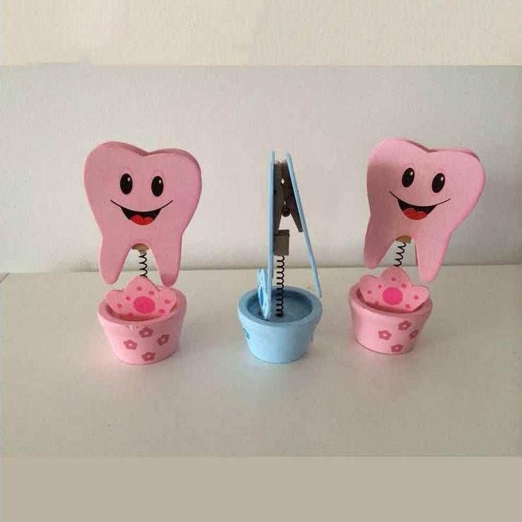 6 Pcs/Pack Dental Clinic Tooth Business Name Card Holder Case Display Stand - Dental Desire.com