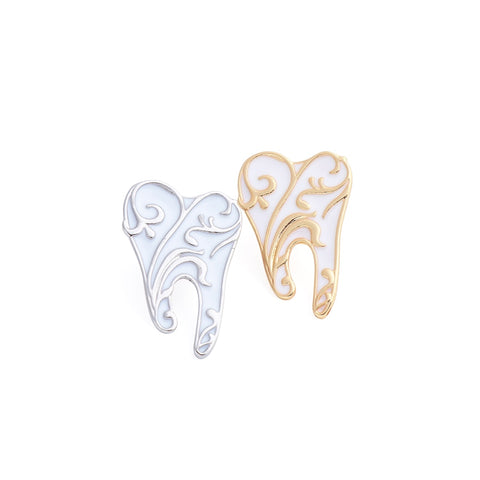Tooth Pin Brooches Women  Accessory - Dental Desire.com