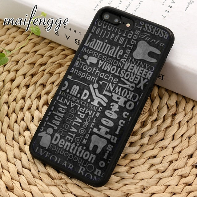Tooth Pattern phone Case cover For iPhones and Samsung - Dental Desire.com