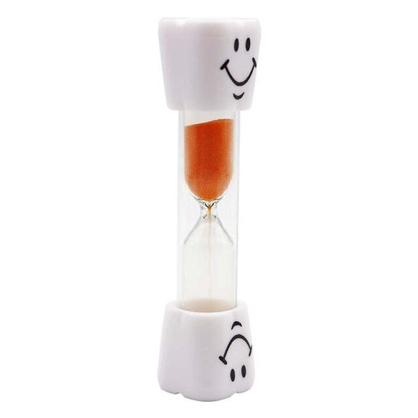 1pc Dental Teeth Shape Sand Hourglass Smiley Sand Clock Kids Tooth Brush Timer 3/Three Minutes Sand Glass Dentist Gifts Tools - Dental Desire.com