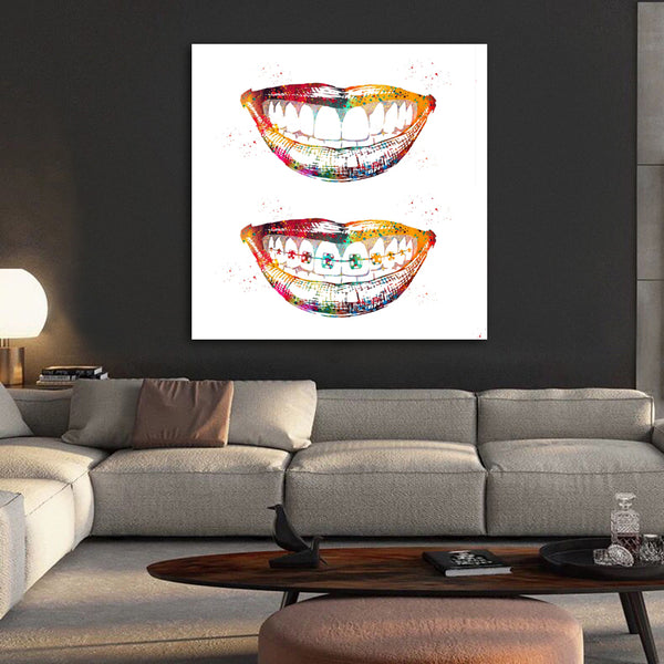 Laugh Out Loud Dental Wall Art Painitng - Dental Desire.com
