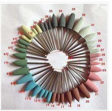 40pcs Dental Materials Silicon Rubber Polishing Grinding Bur - Dental Desire.com