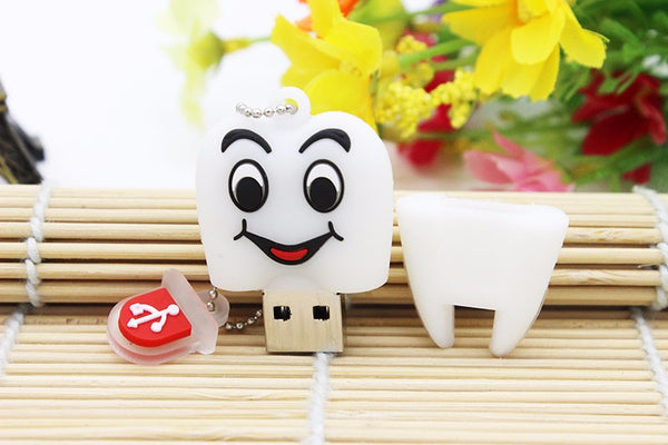 Cute Tooth Shape Pendrive (64GB 32GB 16GB 8GB 4GB ) - Dental Desire.com