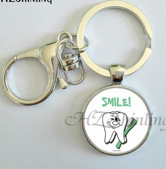 Love Your Teeth pendant keychain - Dental Desire.com