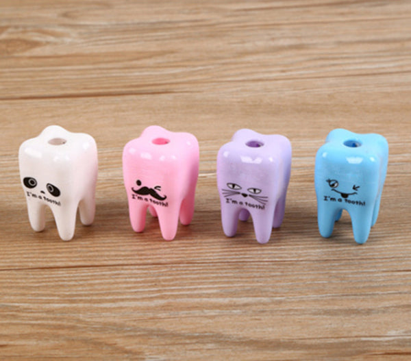 20pcs Lovely Cute Tooth shape  Pencil Sharpener - Dental Desire.com