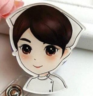 Cute Retractable ID Card Badge Holder - Dental Desire.com