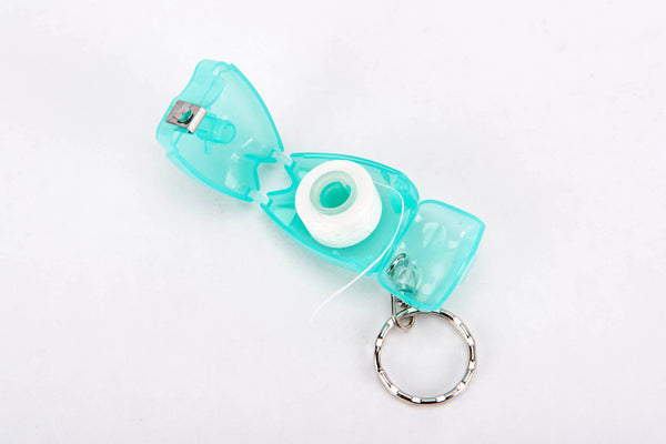 Dental Flosser Key Chain Gift Set (box of 10) - Dental Desire.com