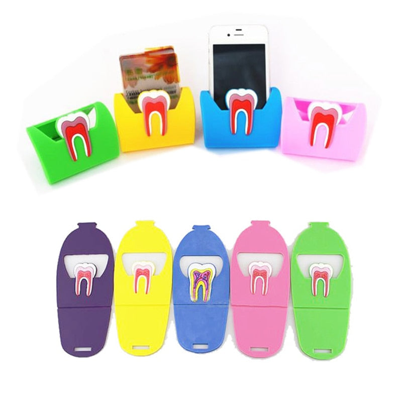 1 pc Cute Molar Shape Name Card Holder Stand - Dental Desire.com