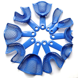 10 Pieces / lot,Dental Materials Plastic Impression Trays , - Dental Desire.com