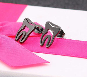 Beautiful Tooth Shape Earrings - Dental Desire.com