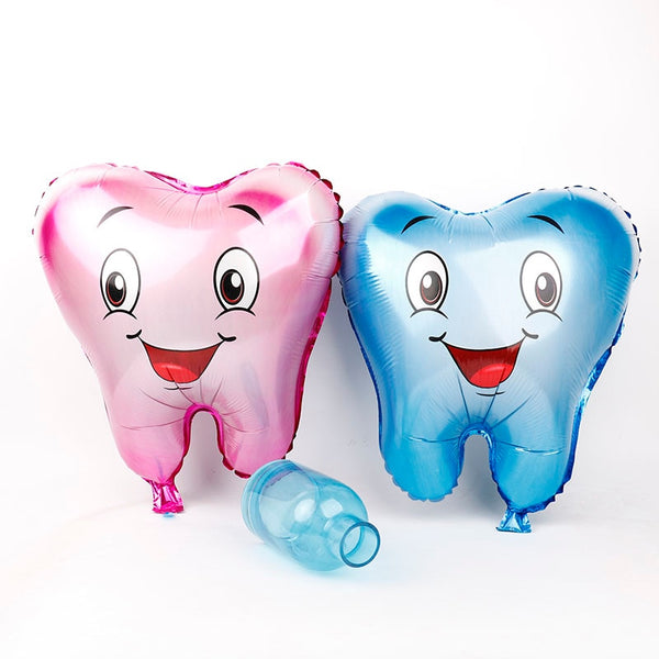 Pink & Blue Balloon Molar (10pcs) - Dental Desire.com