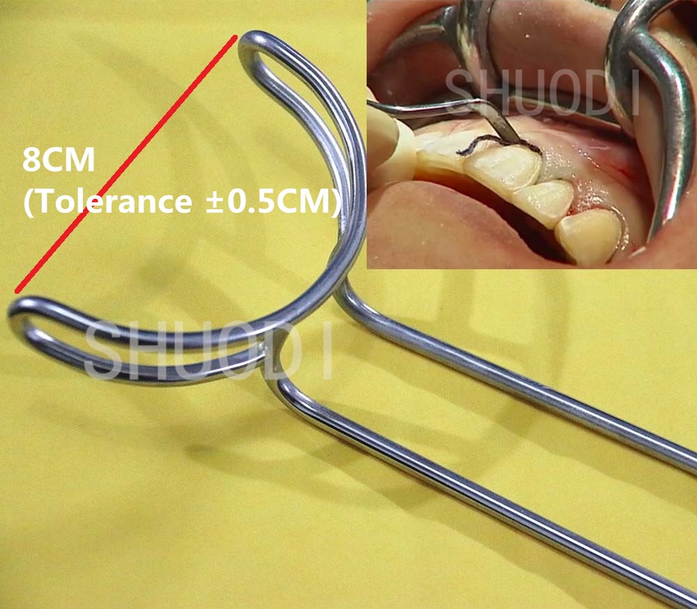 Surgical Dental Large Mouth  Gag  Retractors SS Instrument - Dental Desire.com