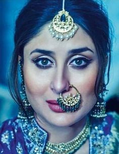 Kareena Kapoor Khan smash the traditional look with this stylish Nose-ring