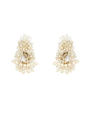 Fringy Fish - Studs With Peach Colour by DORO L1043 - SIA Jewellery
