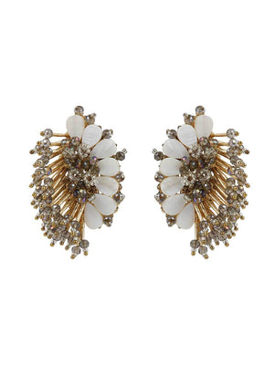 Olivia - Studs With Grey Colour by DORO L1047 - SIA Jewellery