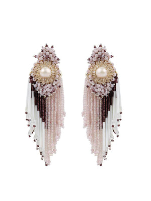 Mimosa - Danglings With Wine Colour by DORO L1069 - SIA Jewellery