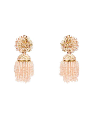 Jarred - Danglings With Baby Pink Colour by DORO L1079 - SIA Jewellery