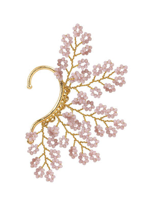 Keladi - Earcuffs With Lilac Colour by DORO L1103 - SIA Jewellery