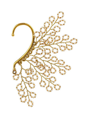 Qatam - Earcuffs With Gold Colour by DORO L1108 - SIA Jewellery
