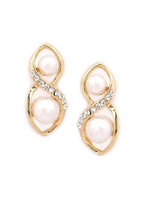 SIA Fashion Gold Plated Earrings S23437-SIA Jewellery