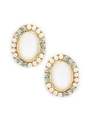 SIA Fashion Gold Plated Earrings S23443-SIA Jewellery