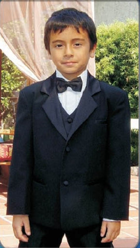 "Little Boy ""Bond"" Tuxedo IVORY"
