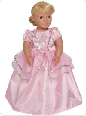 Doll Royal Pink Princess Dress