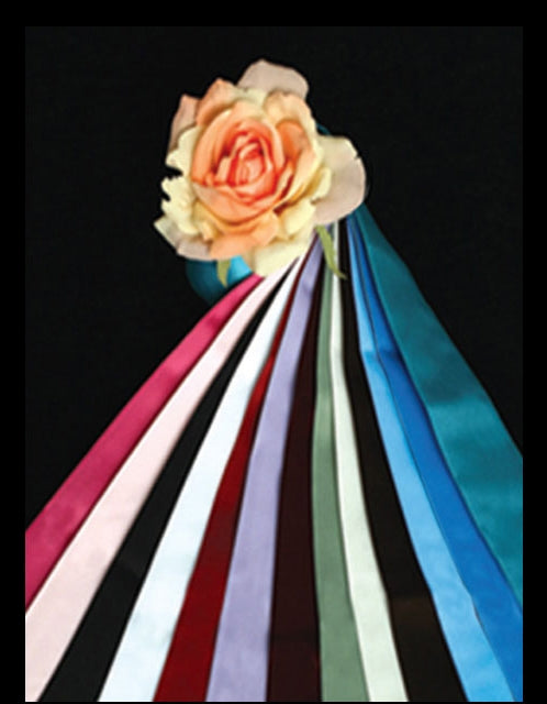 Satin Colored Sash