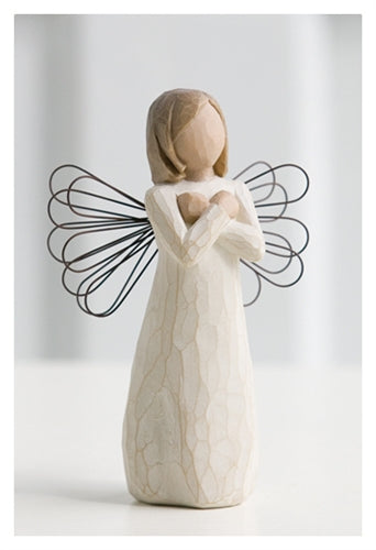 "Willow Tree ""Sign For Love"" Angel"