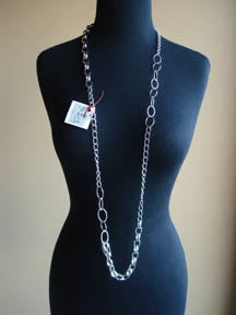 Modge Podge Chain Long Necklace