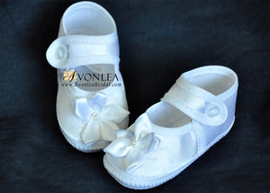 Newborn Infant Girl Pin Wheel Shoes