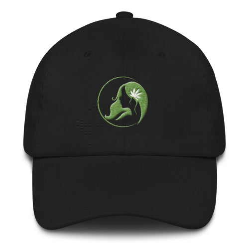 Dad hat w/ Green Logo