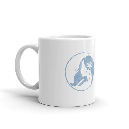 Mug w/ Pencil Blue Logo