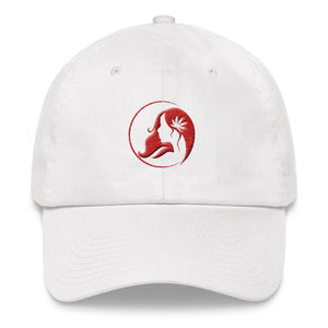 Dad hat w/ Red Logo | Hats | Ms. Marys Apparel