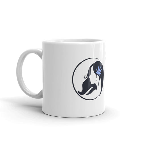 Mug w/ Dark Blue Logo