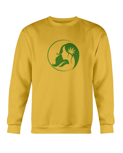 Ms. Mary's Sweatshirt (Large Green Logo)