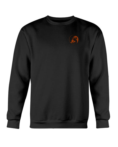 Ms. Mary's Sweatshirt (Small Orange Logo)
